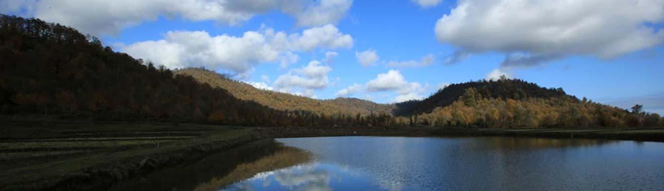 پاییز دریاچه سراگاه